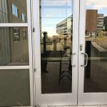 Aluminum Double Doors