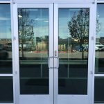 Clear Double Door System