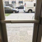 Double Aluminum Doors